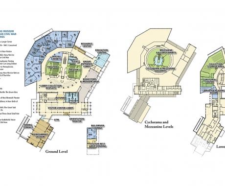 Gettysburg Museum floorplan