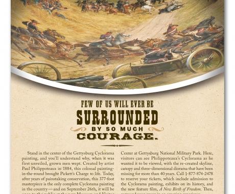 Gettysburg ad