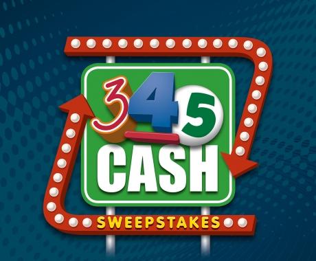 345 Cash logo