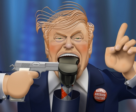 Trump Takes Aim